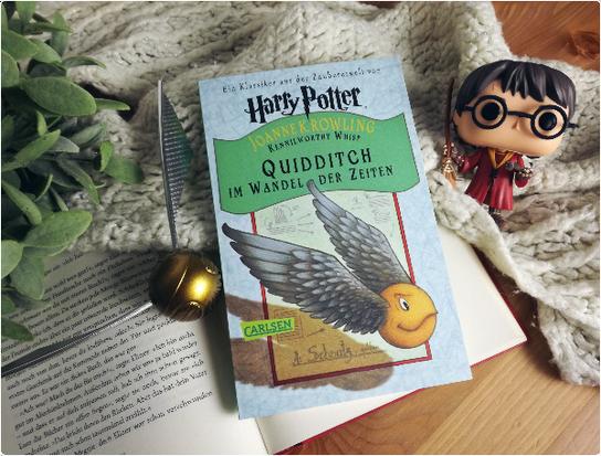 rezension harry potter quidditch im wandel der zeiten hogwartsschulb cher von j k rowling. Black Bedroom Furniture Sets. Home Design Ideas